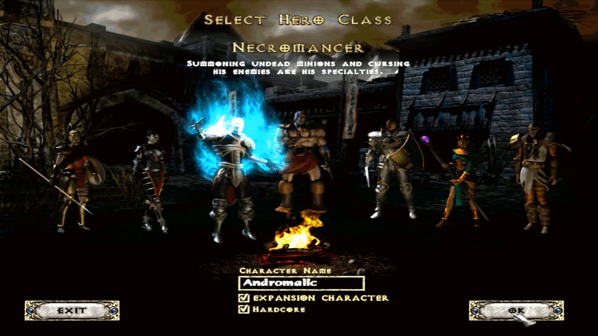 Герои игры Diablo 2: Lord of Destruction